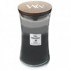 WARM WOODS ŚWIECA DUŻA - WoodWick