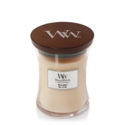 WHITE HONEY ŚWIECA ŚREDNIA - WoodWick