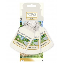 CLEAN COTTON® Car jar® bonus pack - Yankee Candle