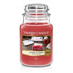 LETTERS TO SANTA Słoik duży - Yankee Candle