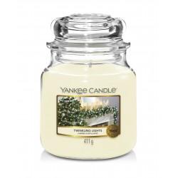TWINKLING LIGHTS Słoik średni - Yankee Candle