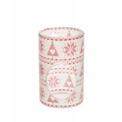 RED NORDIC FROSTED GLASS Kominek - Yankee Candle
